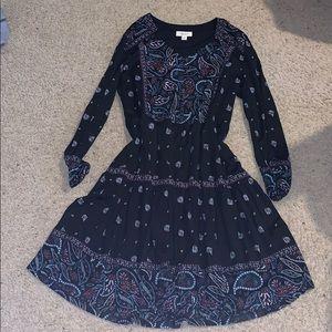 Style&Co knee length black V-neck dress
